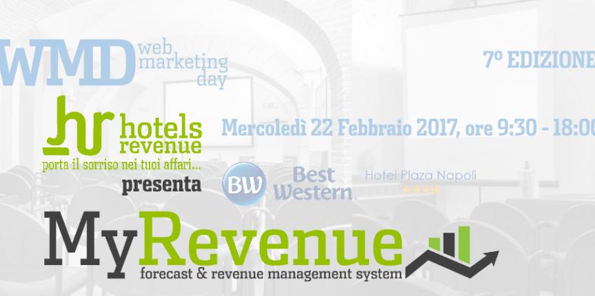 Web Marketing Day Napoli: Hotels Revenue presenta MyRevenue