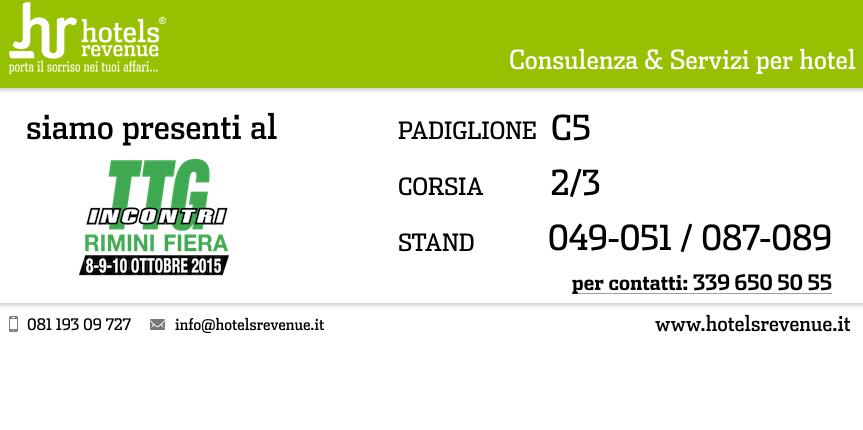 Ci vediamo al TTG – Rimini 2015