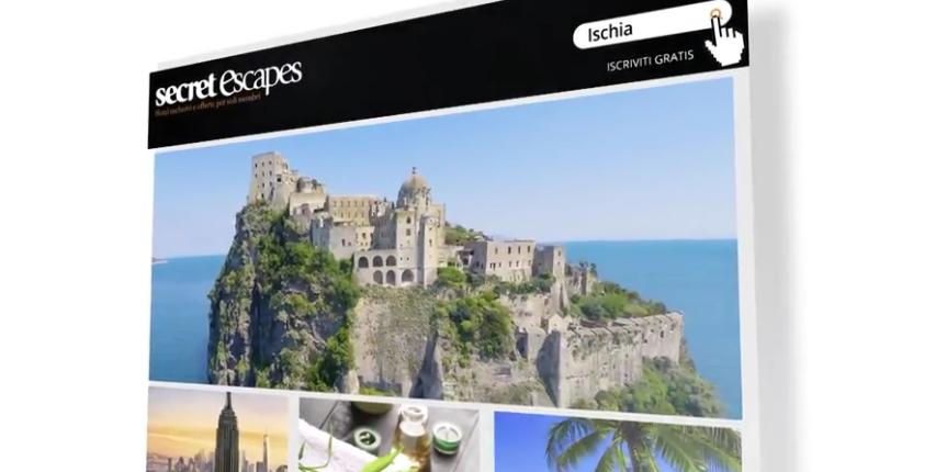 Ischia & Miramare e Castello in TV con Secret Escapes