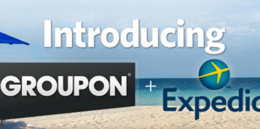 Groupon ed Expedia si uniscono: per gli hotel sempre più intermediazione