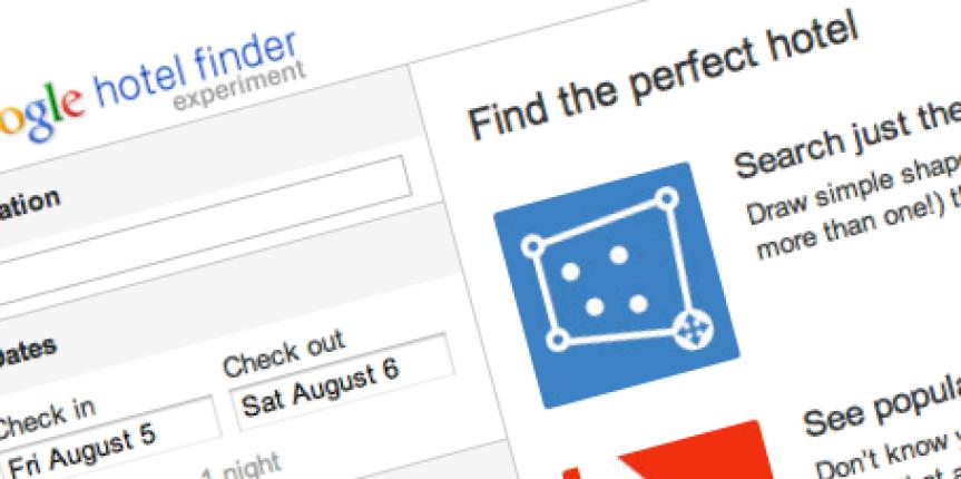 Google Hotel Finder: la rivoluzione del prenotare online