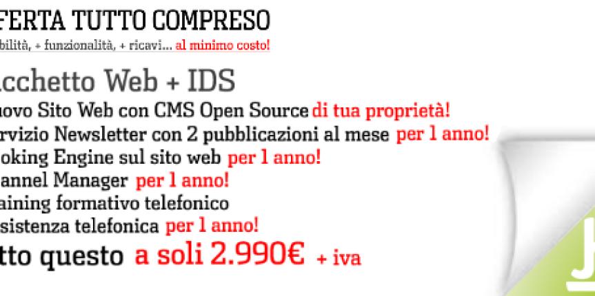Offerta Speciale Sito Web Hotel + IDS