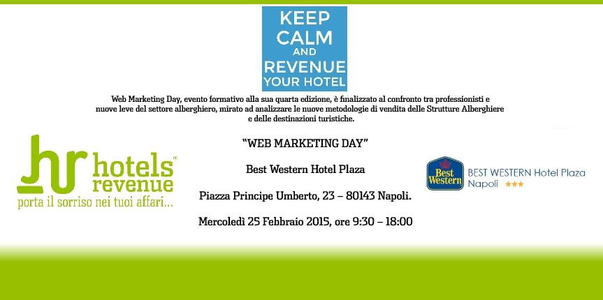 Web Marketing Day 2015 – evento formativo Revenue